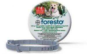 kullancs elleni védelem foresto